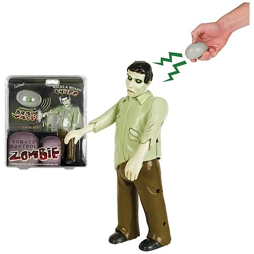 Remote Control Zombie Action Figure