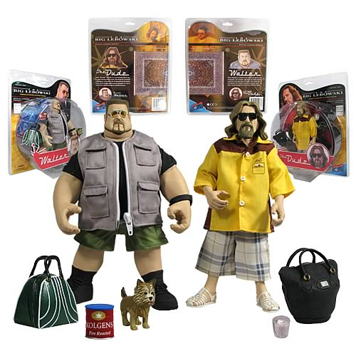 Dude and Walter Big Lebowski action figures