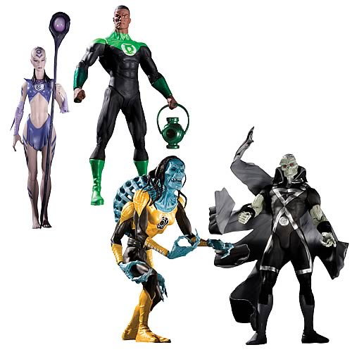 DC Blackest Night Series 2 Action Figure Set