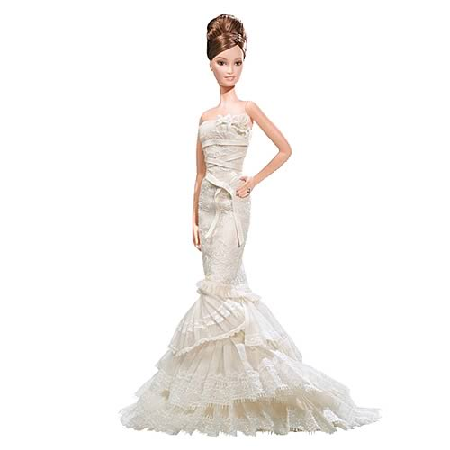 For princesses, clothes were the important factor due to its beauty effect. However, as the concept of princesses merge with modernism, cutting-edge fashion became the must-have for modern princesses as shown by this picture of a Barbie wearing Vera Wang clothing. Without fashionable clothes, princess brands would not survive.