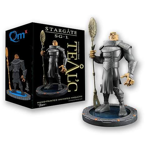Stargate SG-1 Animated Teal'c Limited Edition Maquette