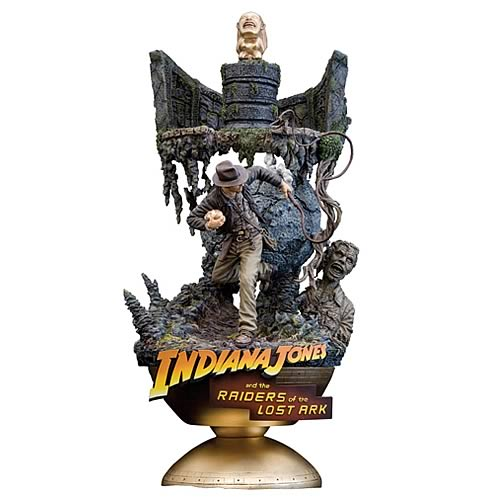 Indiana Jones ArtFX Theater Raiders of the Lost Ark Statue