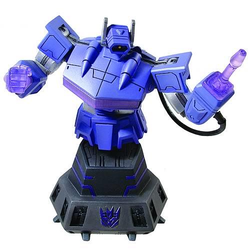 Transformers Shockwave Bust