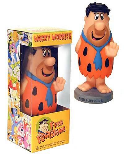Fred Flintstone Wacky Wobbler
