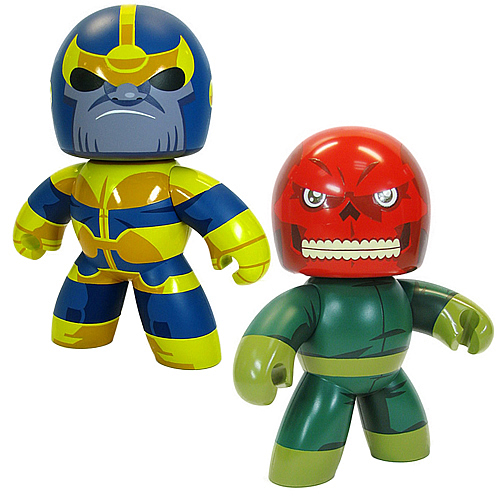 Marvel Mighty Muggs Exclusive Thanos & Red Skull Figure Set