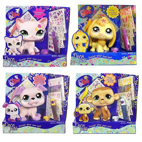Littlest Pet Shop Deco Pets Wave 1 Revision 1