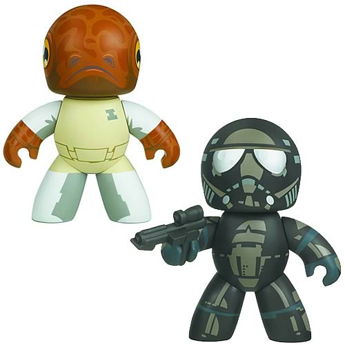 Star Wars Mighty Muggs Admiral Ackbar & Shadow Trooper Set