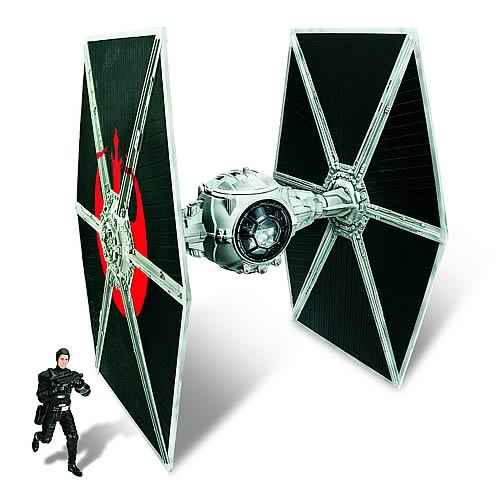 Star Wars <b><b>Exclusive</b></b> TIE Fighter Vehicle with Hobbie Klivian