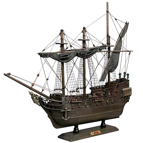 Pirates of the Caribbean Wooden Black Pearl Replica