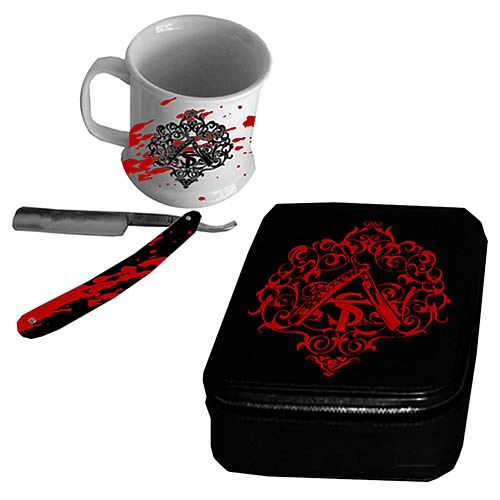 Sweeney Todd Shaving Kit :  johnny depp razor accessories gothic