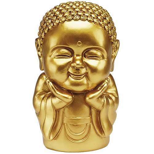 Praise Gold 8-Inch Buddha Buddha Bank