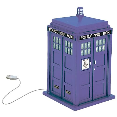 Doctor Who TARDIS USB Hub | Gifts For A Geek and Toys