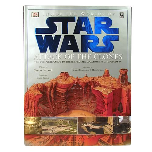 star wars qui gon jinn lightsaber. Star Wars Episode II Inside the Worlds of Star Wars Book