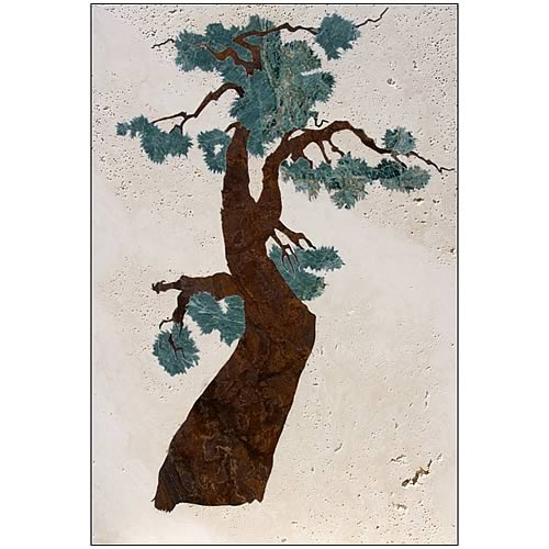 Disney Mulan Tree Stone Artwork