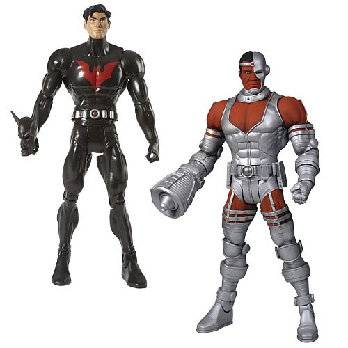 Best Seller. DC Universe Batman Beyond and Cyborg Variant Action Figures