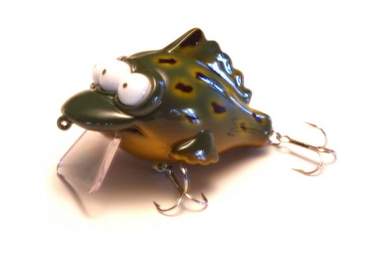 Simpsons: Blinky Pet Frog Fishing Lure