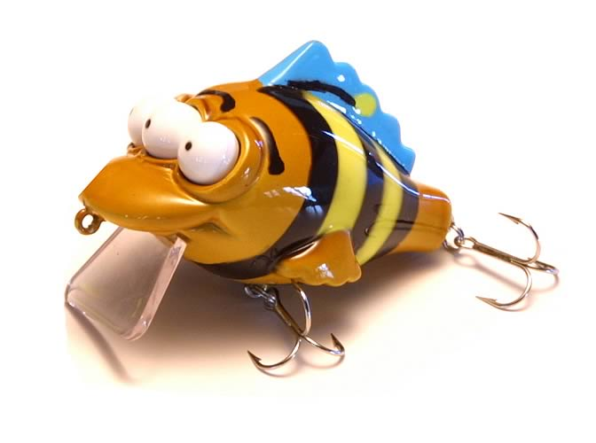 Simpsons: Blinky Bumblebee Fishing Lure
