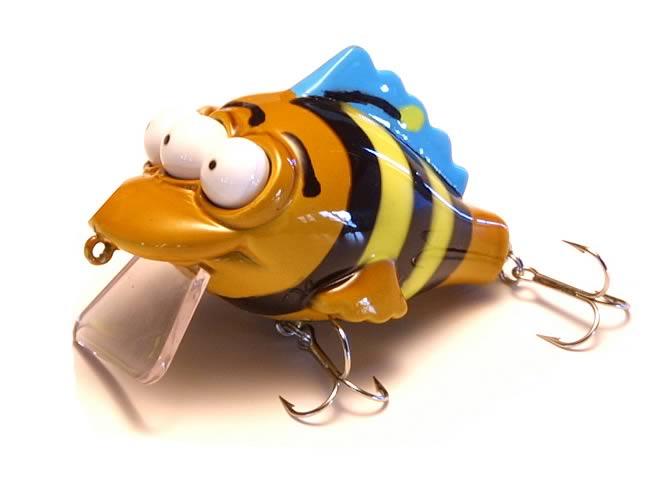 Simpsons: Blinky Bumblebee Fishing Lure