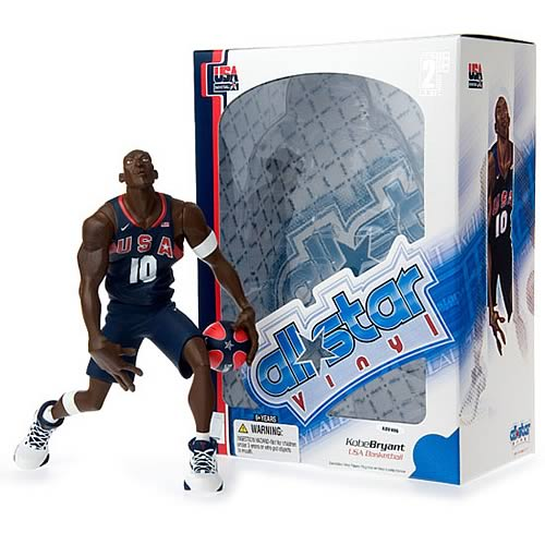 NBA All-Star Kobe Bryant (Team USA Jersey) Vinyl Figure