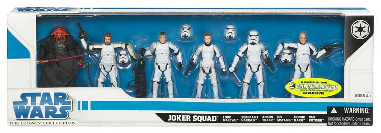 EE Exclusive Star Wars Joker Squad Action Figures