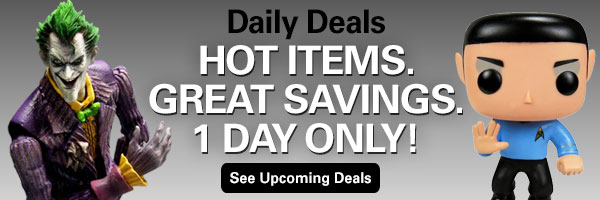 Entertainment Earth Daily Deals! See Today's Deal, 1 Day Only!