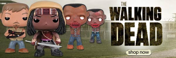 Walking Dead figures, statues, t-shirts and more!