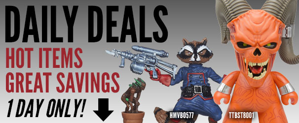 Entertainment Earth Daily Deals! See Today's Deal, 1 Day Only!���������������������������������������������������������