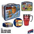 Six Million Dollar Man Retro Tin Tote Gift Set - Exclusive