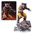 Wolverine Brown Costume Danger Room Sessions Fine Art Statue