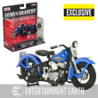 SOA Final Ride 1946 Harley 1:18 Scale Motorcycle Shared Exc.