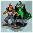 Marvel vs. Capcom 3 Dr. Doom vs. Akuma 1:4 Scale Statue