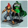 Marvel vs. Capcom 3 Dr. Doom vs. Akuma 1:4 Scale Statue