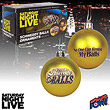 Saturday Night Live Schweddy Balls Ornaments - Set of 2