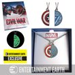 Captain America: Civil War BFF Necklace Set - EE Exclusive