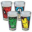 Marvel Close Up Pint Glass 4-Pack