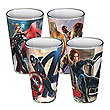 Avengers: Age of Ultron Poses 16 oz. Pint Glass 4-pack