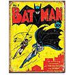 Batman No. 1 DC Comics Retro Tin Sign
