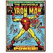 The Invincible Iron Man Marvel Comics Cover Retro Tin Sign