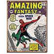 Amazing Fantasy Spider-Man Intro Marvel Comics Tin Sign