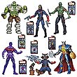 Marvel Infinite Action Figures Wave 4 Set