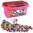LEGO 5560 Pink Brick Box Large