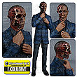 Breaking Bad Gus Fring Burned Face Figure - EE Exclusive