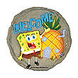 SpongeBob SquarePants Welcome Stepping Stone